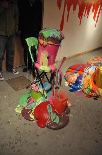 Chair/bucket piece
