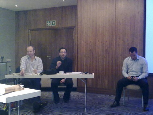The panel at the #brandsh #mwc10 feedback session