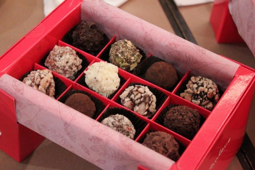 Truffles by Paulene Chocolats Suisses
