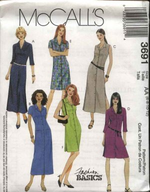 McCall's 3691 Pattern Front