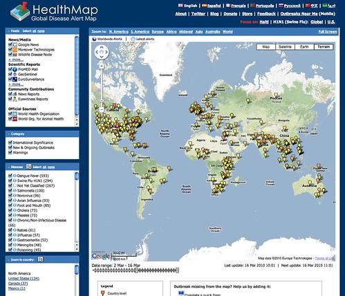 Engelbart Prize: HealthMap