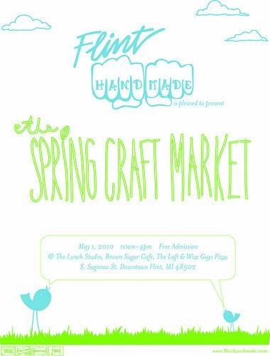 Flint Handmade Spring Craft Market
