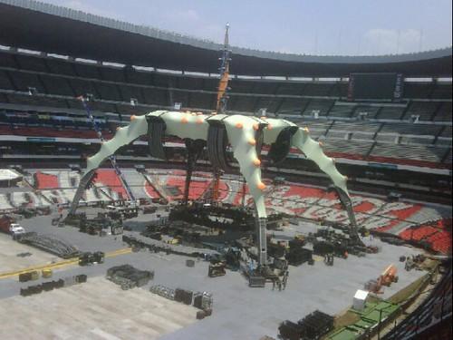 La Garra en el estadio azteca de méxico