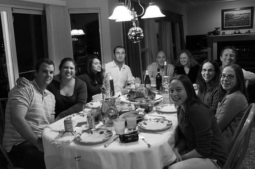 Christmas dinner - Family