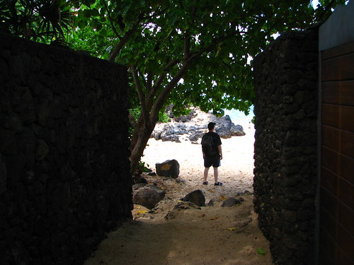 Entrance to Secret Cove (Pa'ako Beach), Maui