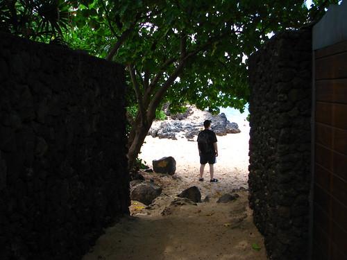 Entrance to Secret Cove (Pa'ako Beach), Maui