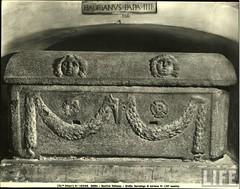 tomb of Hadrian IV (I think)