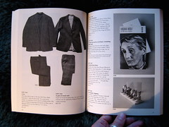 Leanne Shapton, Important artifacts and personal property from the collection of Lenore Doolan and Harold Morris, including books, street fashion, and jewelry, Sarah Crichton Books NY, 2009; ©Leanne Shapton, p. 62-63 (part.)