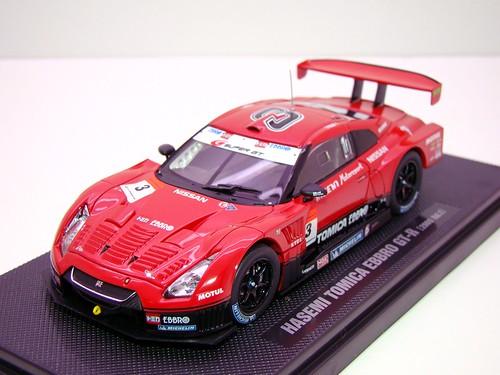 EBBRO HASEMI TOMICA EBBRO GT-R 2009 RD 1 (2)