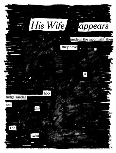 """""""The Twist"""" from NEWSPAPER BLACKOUT by Austin Kleon."""