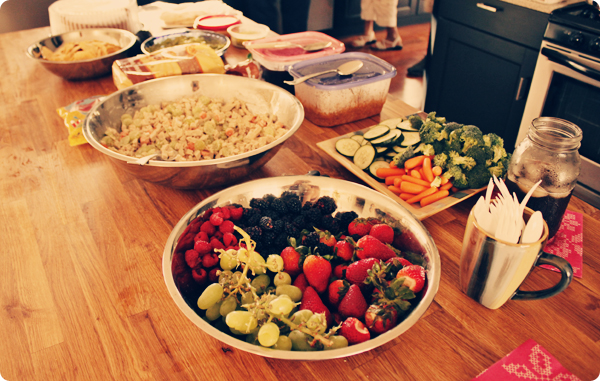 Vegan Easter Buffet