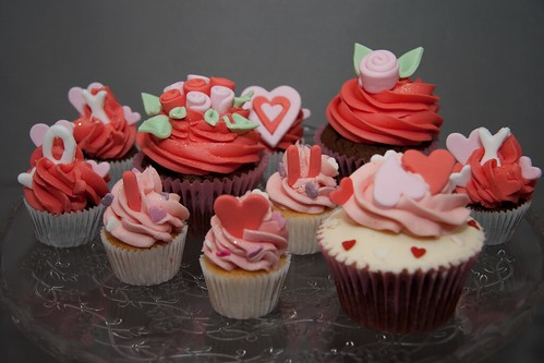 Valentine's Cupcakes from Cirencester Cupcakes