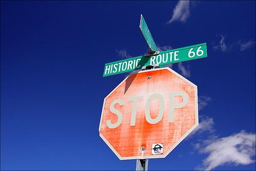 Stanna upp, välj väg (bild från Flickr)