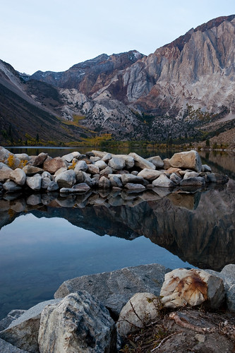 Convict Lake in the morning