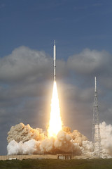 Ares I-X Rocket Takes Off (NASA, 10/28/09)
