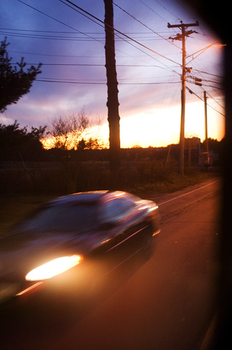 Speeding Away from the Sunset