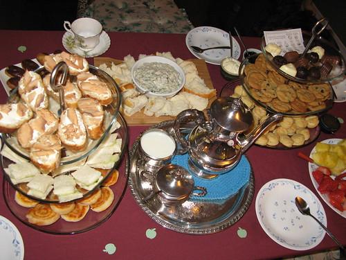 New Year's Eve high tea
