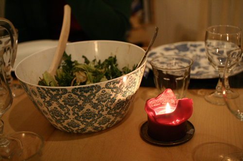 Middag hos Eva og Stephan