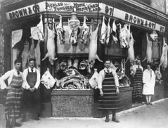 Brown & Co. Butcher. Kettering Road, Northampton