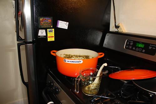Pork Chile Verde w/Spanish Rice