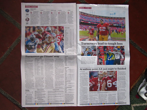 SF Chronicle - Inside Sports Splash Pages