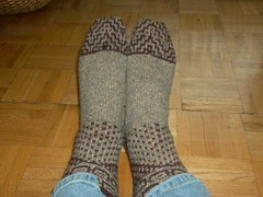 Miss Marple Mystery Socks 2