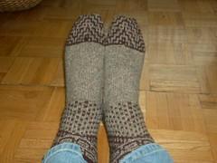 Miss Marple Mystery Socks 2