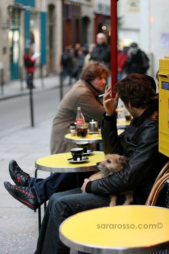 Coffee, cigarettes, cool shoes and your best friend: Paris, France