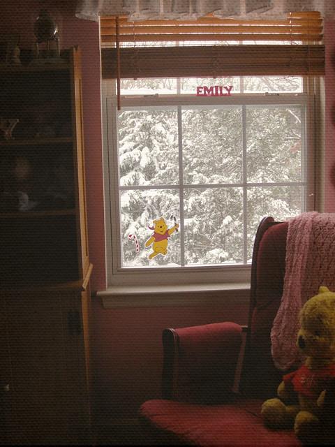 pooh window