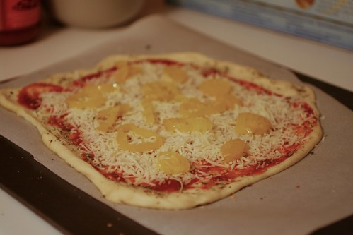 Pizza w/ Banana Peppers
