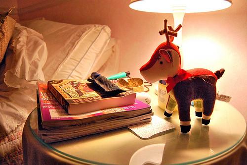 Books Bedside Deer