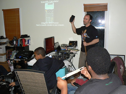 Computer Literacy Program - Ryan Explains Scientific Calculator