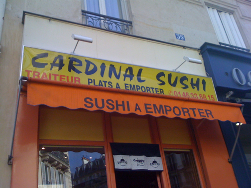 Il sushi del Cardinale