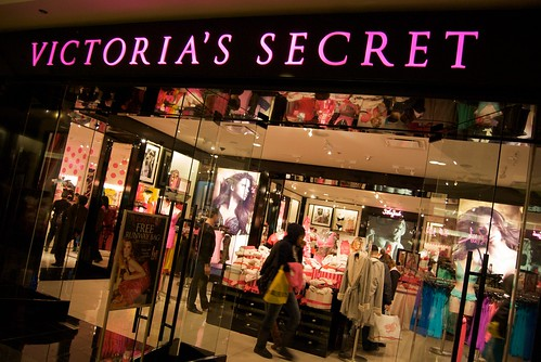 Victoria's Secret Black Friday at Westfield San Francisco Centre 2009
