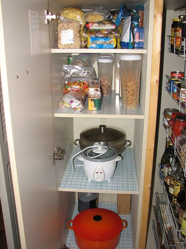 Clean cupboard!