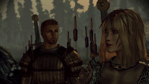 Dragon Age - Warden and Alistair