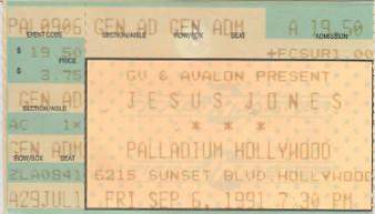 Jesus Jones, Palladium