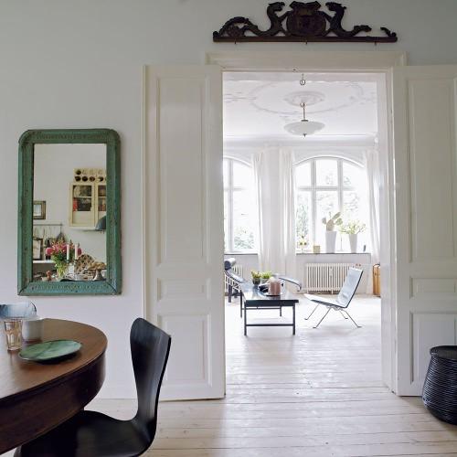 the estate of things chooses bolig doorway view