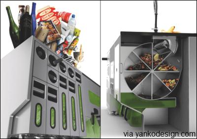 EKOKOOK, the zero-waste kitchen island