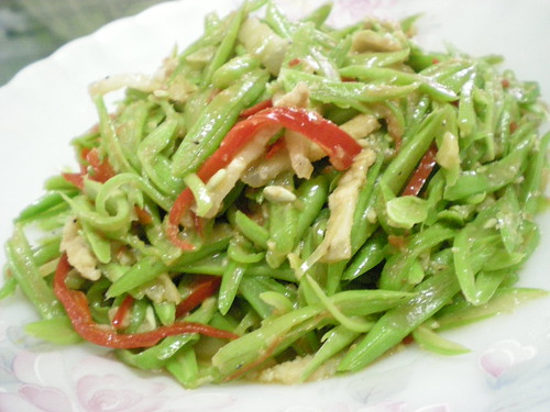 STP's fried french beans 3
