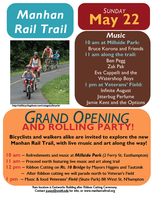 Manhan Rail Trail Poster