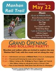 Manhan Rail Trail Poster
