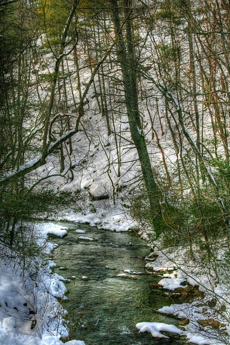 Snow on Otter Creek