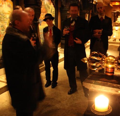 Steampunk Buddha Room Chicago