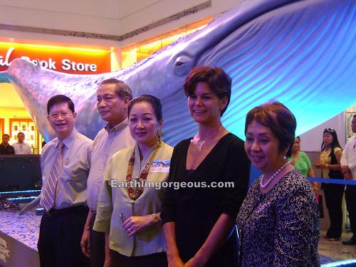 Nikki Coseteng, Sonia Jackson @ Big Blue Exhibit Manila