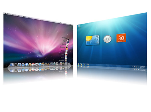 Mac OS X and Windows 7