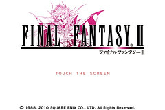 Final Fantasy II for iPhone/iPod touch