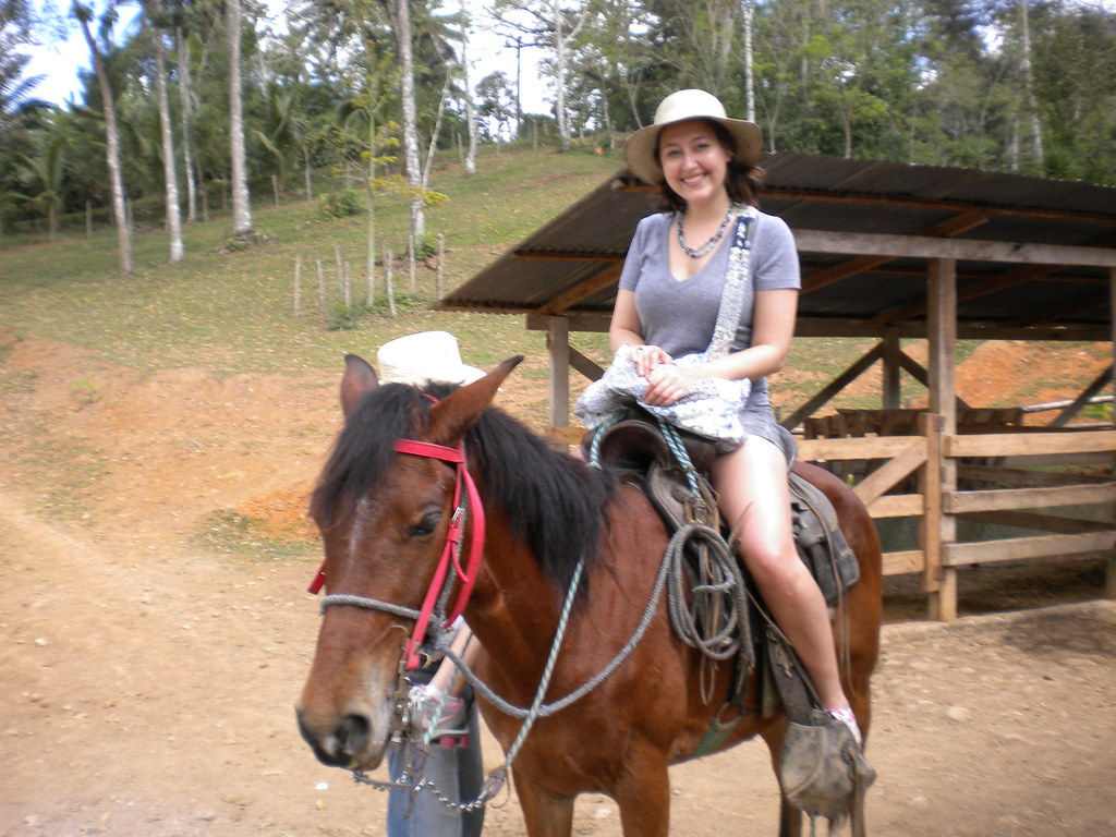 me on a horse!