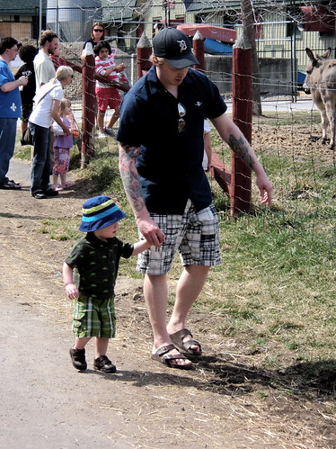Walking the Farm with Dad