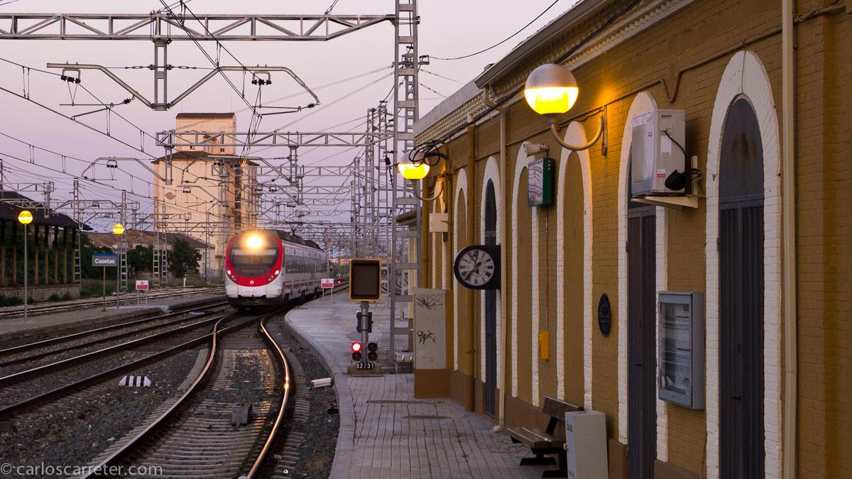 Llega el tren